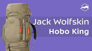 Туристический рюкзак Jack Wolfskin Hobo King. Обзор
