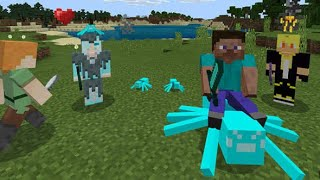 Minecraft PE How To Play With Friends