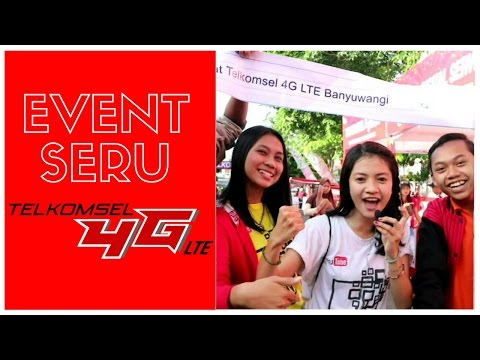 Video Jalan Sehat Telkomsel 4G LTE #YoutubeCornerBanyuwangi