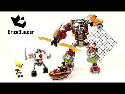 Vidéo LEGO Ninjago 70592 : Le robot de Ronin