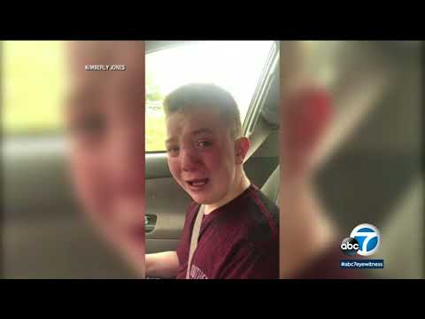 Boy's emotional bullying video gets support across the world | ABC7