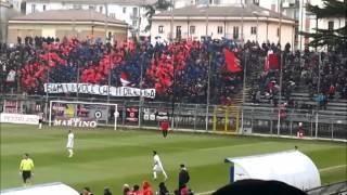 preview picture of video 'Potenza - Bisceglie 11/01/2015 ingresso in campo e festeggiamenti a fine gara'