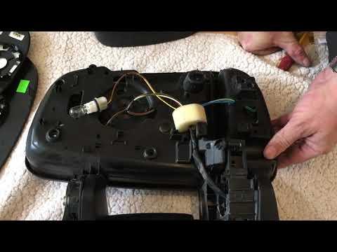 Citroen Relay/Peugeot  boxer Fiat Ducato van mirror fix Tear down