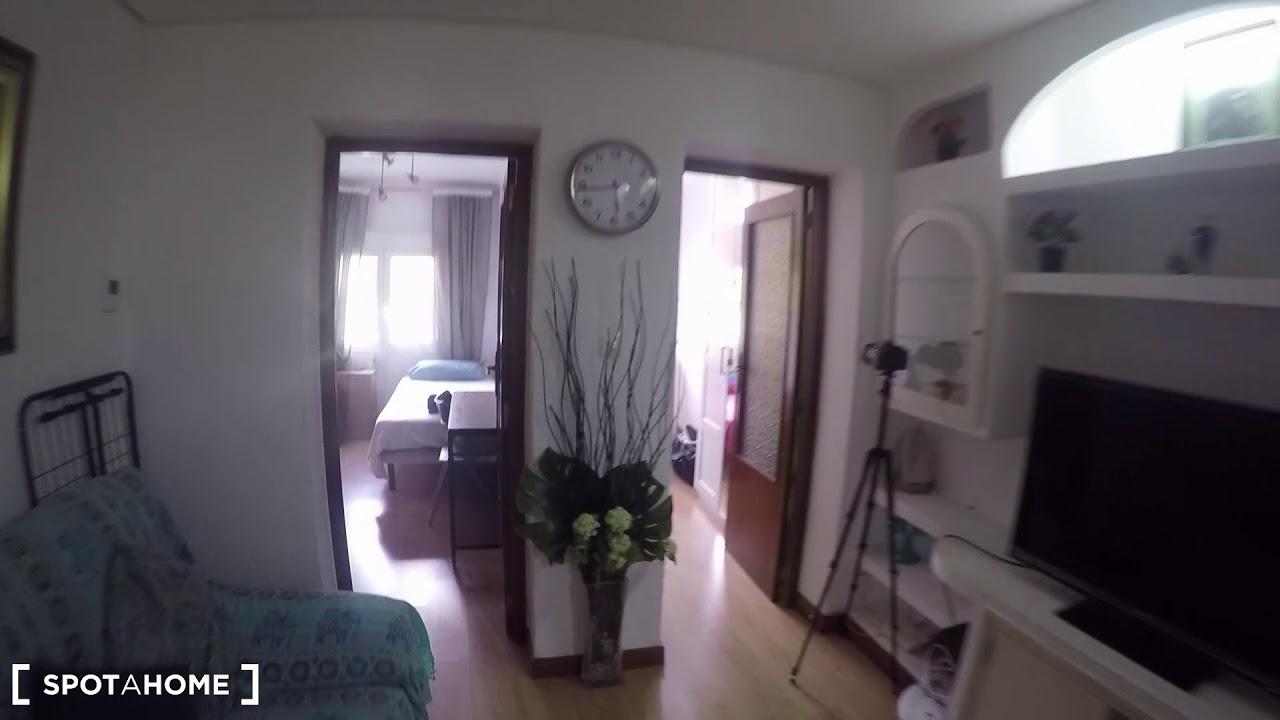 Comfortable  3-bedroom apartment for rent in Puente de Vallecas
