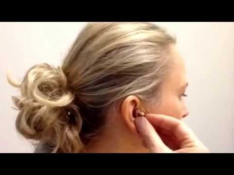 How to put in a Widex ITE Hearing Aid