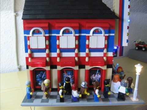 Kino mit STAR WARS Premiere im LEGO STORE in München