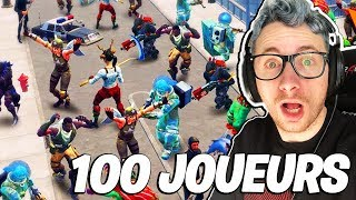 FORTNITE SERVEUR PRIVE - 100 JOUEURS A TILTED TOWER !!!