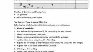 TUTORIAL - Becoming Adobe Certified