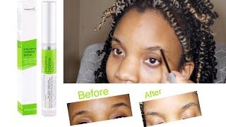Pureauty Naturals biotin eyelash & eyebrow serum review| How to grow eyebrows
