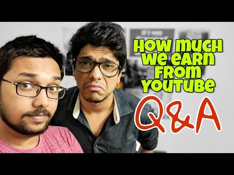 How much Youtube pays? QnA for Gareeb Creators
