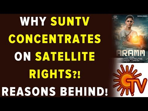 Why SunTV Concentrates on Satellite Rights?! Reasons Behind!
