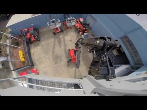 Manitou 160 ATJ + Articulated Boom Lift