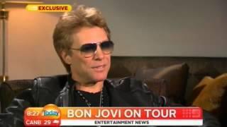 Jon Bon Jovi talks about Sambora: