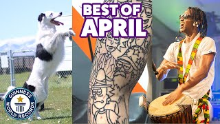 Incredible new April records! - Guinness World Records