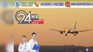 Choose Sky Air Ambulance in Delhi with Dedicated Medical Staff