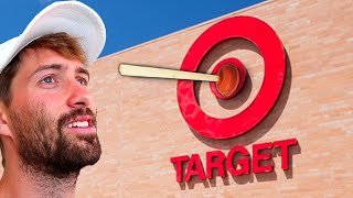 Stuck A Plunger To Target Store Sign