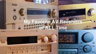 My Favorite AV Receivers of All Time