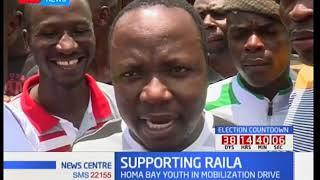 Gladys Wanga leads Raila Odinga's campaign trail in Homa Bay