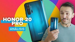 Análisis Honor 20 Pro: 4 cámaras a mejor precio