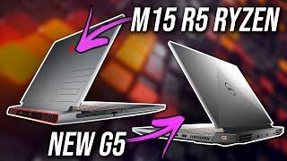 Alienware m15 R5 Goes Ryzen + Dell G5 Refresh!