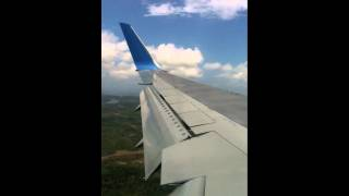 preview picture of video 'Neos 767 300 ER Landing Mombasa Airport'