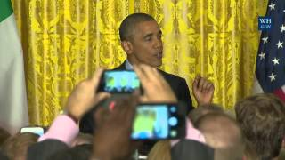St. Patrick's Day 2016 At The White House