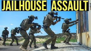 Jail House Assault   Desert Fox Events: Southern Strike (VFC Avalon/KWA LM4)