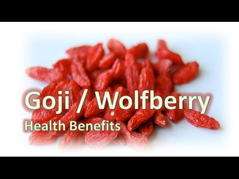 Video Goji Berries Health Benefits