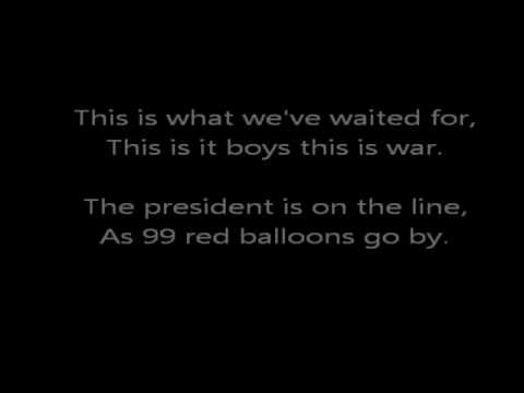 Goldfinger- 99 Red Balloons (lyrics)