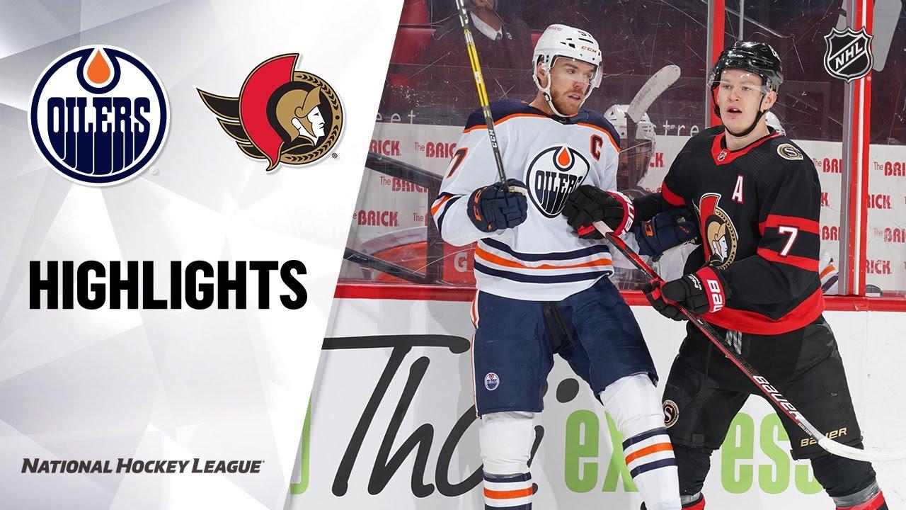 Senators vs Oilers | Monday, February 08, 2021