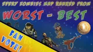 EVERY GOBBLEGUM RANKED FROM WORST TO BEST!- (Call of Duty Black Ops on best black ops zombies map, best bo2 zombies map, best waw zombie map,