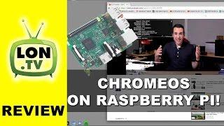 ChromeOS Comes to Raspberry Pi ! Raspberry Pi 3 Review with Chromium OS