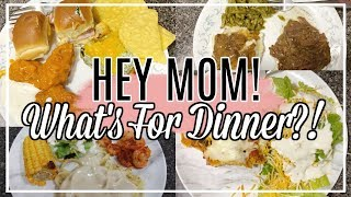 🍴🦐🏈 What's for Dinner? | Easy Affordable Family Meal Ideas For Busy Moms | Love Missy XO