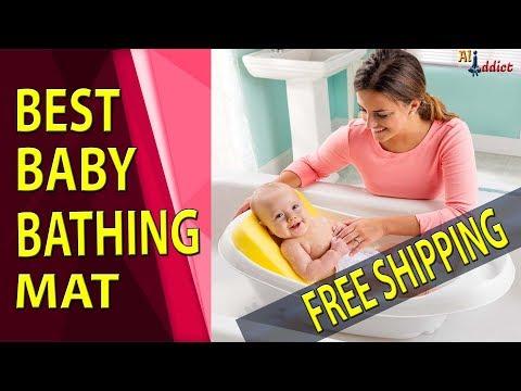 Newborn Baby Security Bath Mat - Affordable Baby Bathing Mat Review / AliAddict