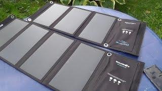 Солнечная панель Blitzwolf BW-L3 28W/3.8A solar panel. Сравнение с 20W/3A, выбор панели