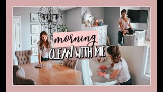 MORNING ULTIMATE CLEAN WITH ME | HOME ORGANIZATION
