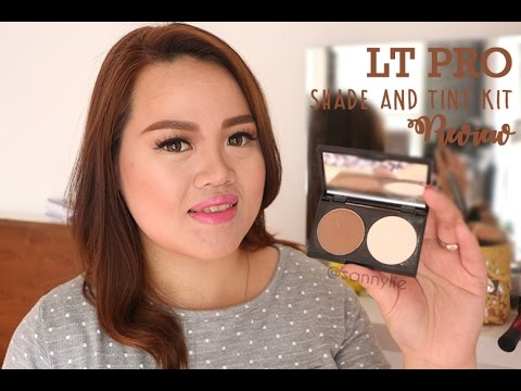 LT PRO Shade and Tint Kit Review + My Contour Routine Bikin Muka Tirus