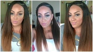 How To Natural Perfectly Lay Your Kinky Straight Lace Wig Ozowigs