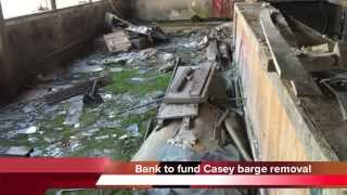 Southern Community Bank to fund removal of Allen Casey barge