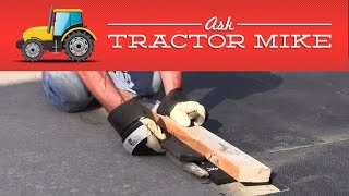 The Easiest Way To Cut Horse Stall Mats Or Exercise Mats