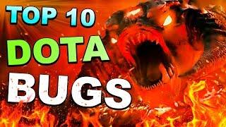 TOP 10 Dota 2 ABUSES and TRICKS of ALL TIME!