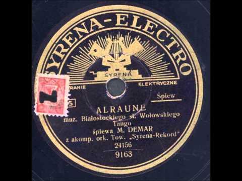 Marian Demar - Alraune  (Tango)