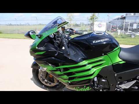 2020 Kawasaki Ninja ZX-14R ABS in La Marque, Texas - Video 1