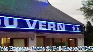 preview picture of video 'Brit Hotel Au Relais du Vern - Landivisiau'