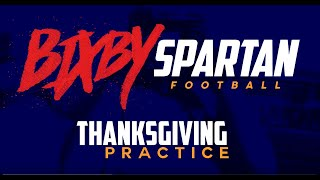 2018 Thanksgiving Practice
