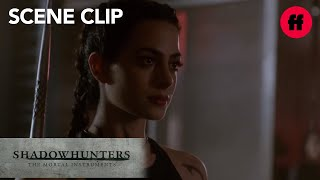 Shadowhunters | Season 2, Episode 1: Izzy & Clary Train | Freeform