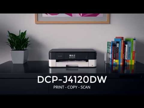 Product Tour - Brother DCP-J4120DW Printer