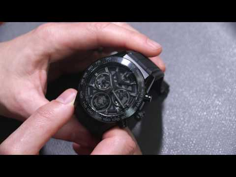 TAG Heuer Carrera Heuer-02T Tourbillon Chronograph Watch Review   aBlogtoWatch