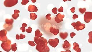 love heart background video effects hd | love heart background hd | heart overlay white background