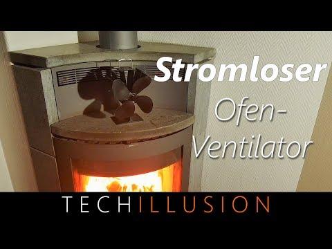 🛠STROMLOSER Ofenventilator im Test - Stromloser Ofen Kamin - Ventilator - Review & Test